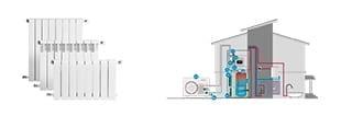 Imagen para la categoría Calefacción y Agua Caliente Sanitaria