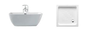 Imagen para la categoría Bañeras y Platos de Duchas